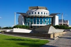 国家戏院在布达佩斯 免版税库存图片