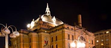 国家戏院奥斯陆 免版税库存照片