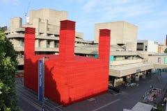 国家戏院的,伦敦,英国棚子 免版税库存照片