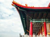 国家戏院细节,台北,台湾 免版税库存照片