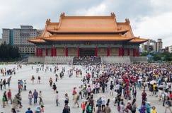 国家戏院自由广场台北台湾 图库摄影