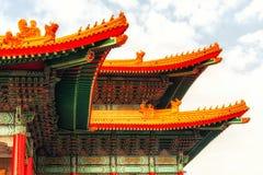 国家戏院霍尔屋顶细节 图库摄影