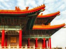 国家戏院霍尔屋顶细节 免版税库存照片
