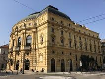 国家戏院,塞格德,匈牙利 免版税库存图片