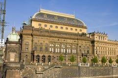 国家戏院,布拉格 免版税库存图片