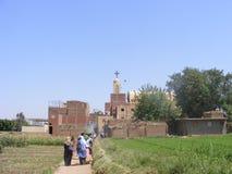国家旁边近的河尼罗开罗 免版税库存照片