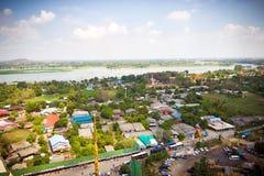 国家旁边风景-泰国 免版税库存照片