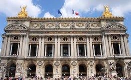 国家歌剧院议院在巴黎 免版税库存照片
