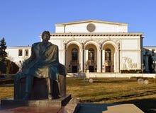 国家歌剧院议院,布加勒斯特,罗马尼亚 免版税库存照片