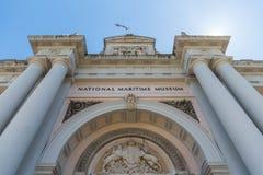 国家海洋博物馆展出在伦敦 免版税图库摄影