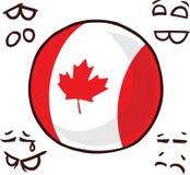 国家球加拿大 皇族释放例证