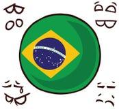 国家球巴西 向量例证