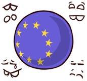国家球欧洲 向量例证