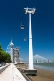 国家的公园在里斯本,葡萄牙 库存照片