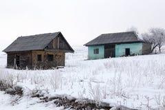 从国家的老房子 库存图片