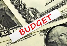 国家的预算 免版税库存图片
