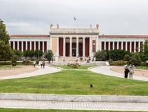 国家考古学博物馆雅典希腊 免版税库存图片