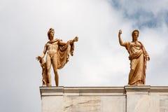 国家考古学博物馆雅典希腊 免版税库存照片