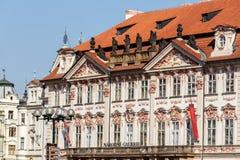国家肖像馆在布拉格,捷克 免版税库存照片
