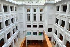 国家肖像馆新加坡内部庭院 库存图片
