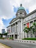 国家肖像馆新加坡的主要看法 免版税库存照片