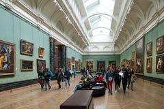 国家肖像馆,伦敦的大厅 库存图片