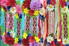 国家装饰品模式乌克兰语 免版税库存照片