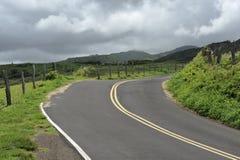 国家(地区)空的路 免版税库存图片