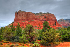 国家(地区)红色岩石 库存照片