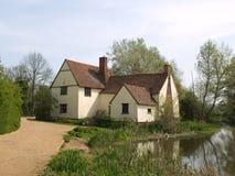 国家(地区)英语房子 库存照片