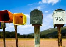 国家(地区)邮件 免版税库存图片