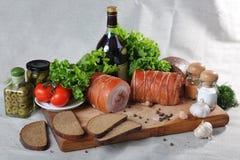 国家(地区)食物 免版税库存照片