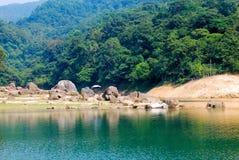 国家(地区)香港shing mun的公园 免版税库存照片
