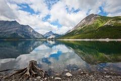 国家(地区) kananaskis湖 免版税图库摄影