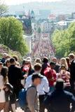 国庆节在挪威 免版税库存图片