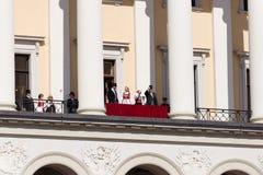 国庆节在挪威 库存图片
