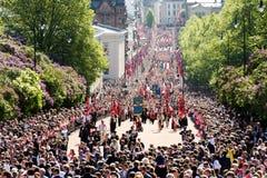 国庆节在挪威 库存照片