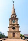 国教徒在18世纪建造的圣约翰教会 免版税库存照片