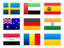 国旗集合 库存图片