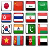 国旗 向量例证