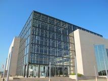 国民和克罗地亚的大学图书馆 免版税库存照片