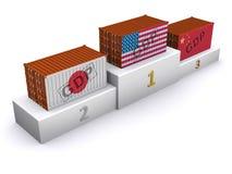 国民生产总值评级 免版税图库摄影
