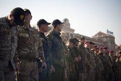 国民警卫队的天 免版税图库摄影