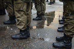 国民警卫队的操作的任命营  库存照片