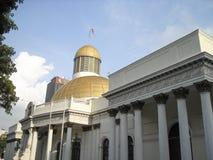 国民议会Capitolio国会政治Downtown加拉加斯委内瑞拉代理 免版税库存图片