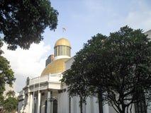 国民议会Capitolio国会政治Downtown加拉加斯委内瑞拉代理 库存照片
