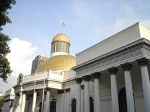 国民议会Capitolio国会政治Downtown加拉加斯委内瑞拉代理 免版税图库摄影