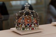 国王冠 库存图片