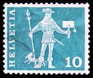 国王卫兵,大约1960年 免版税库存照片