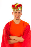 国王天在荷兰 图库摄影
